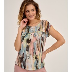 bluzka damska Sunwear D03-2-03 multikolor rozmiar 38 40 42 44 46 48
