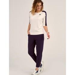 spodnie damskie Sunwear DP701-5-30 granatowe rozmiar 38 40 42 44 46
