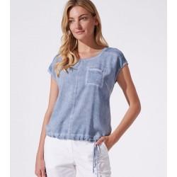 bluzka damska Feria FH27-2-15 jeansowa rozmiar 38 40 42 44 46