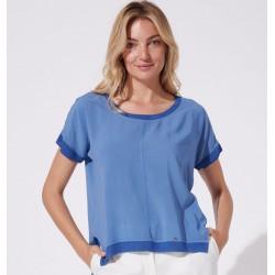 bluzka letnia Feria FH33-2-15 niebieska rozmiar 38 40 42 44 46