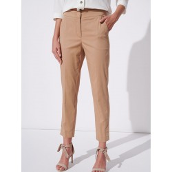 spodnie Feria FH709-5-01 carmelowe rozmiar 38 40 42 44