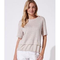 bluzka Feria FH25-3-23 melanż beżowa rozmiar 40 42 44 46