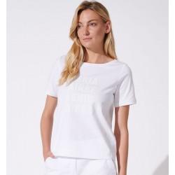 bluzka damska Feria FH47-3-09 biała rozmiar 44 46