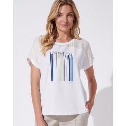 bluzka letnia Feria FH54-2-15 Unlimited kremowa rozmiar 42 44 46 48