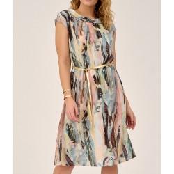 sukienka Sunwear DS205-2-03 maziata rozmiar 40 42 44 46 48