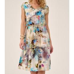 sukienka letnia Sunwear DS206-2-89 multikolor rozmiar 40 42 44 46 48