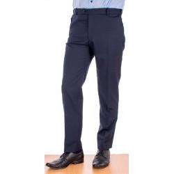 Granatowe spodnie wizytowe w kant Racmen 2562R
