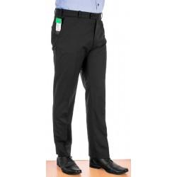 Czarne wełniane spodnie wizytowe w kant Racmen model 2562R