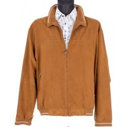 Nieocieplona jasnobrązowa kurtka Biba KW Tommy wiosenna 54 56 58 60 62