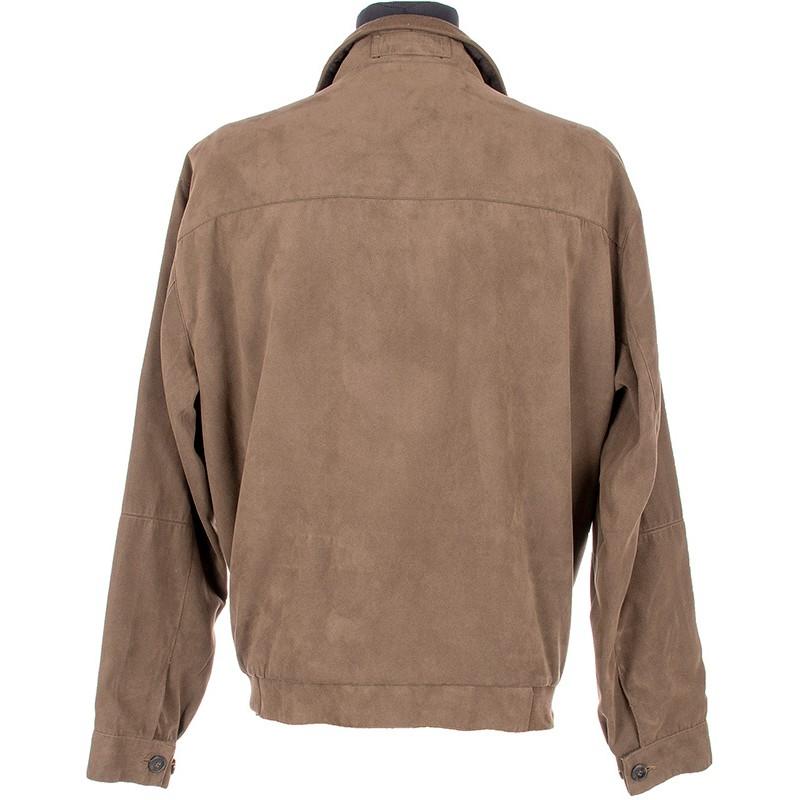 Nieocieplona brązowa kurtka Biba KW Tommy wiosenna