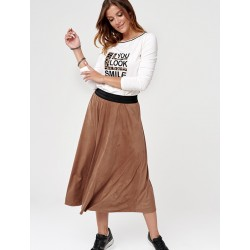 spódnica Sunwear CC402-4-01 brązowa rozmiar 38 44