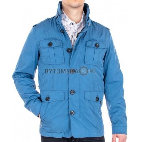 Niebieska kurtka nieocieplona Biba KW Silvio wiosenna