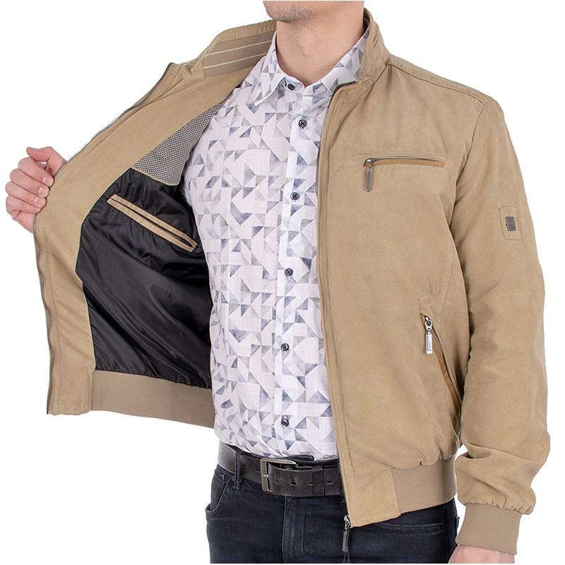 Nieocieplona wiosenna beżowa kurtka Biba KW Victor
