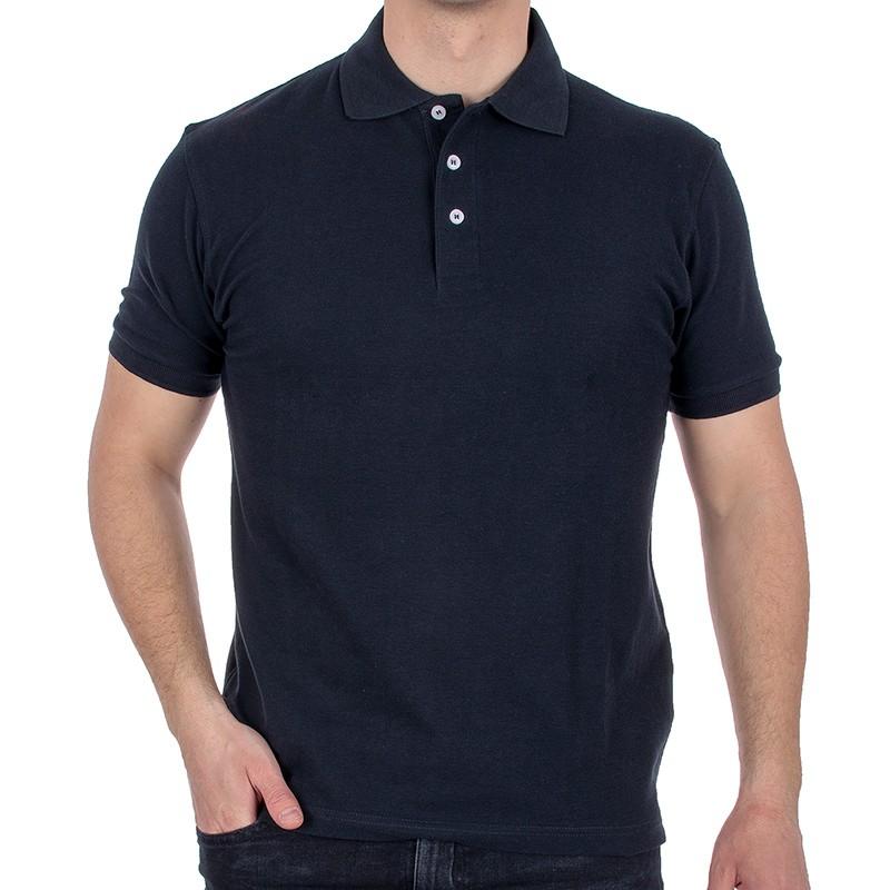 Granatowa koszulka Polo Kings 750*802 z krótkim rękawem