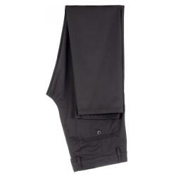 Czarne spodnie męskie Lord R-215 typu chinos roz. 82-120 cm