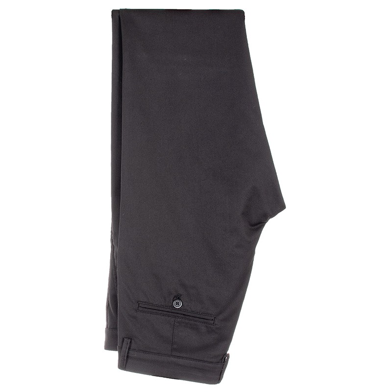 Czarne spodnie Lord R-215 typu chinos