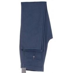 Granatowe spodnie Lord R-153 zwężane bawełniane chinosy roz. 84-112