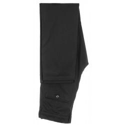 Czarne cienkie gładkie spodnie chinos Lord R-221 zwężane roz. 84-112