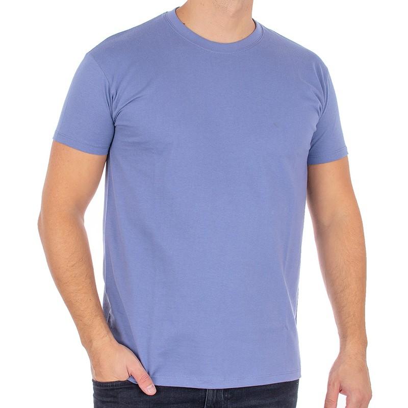 Jasnojeansowy T-shirt Kings 750-101 bawełniany