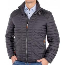 Czarna kurtka przejściowa Canson 21M*1063 130 black 01 pikowana