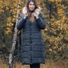 kurtka zimowa Biba Alana 19KZ23 granatowa rozmiar 40 42 44 46 48 50