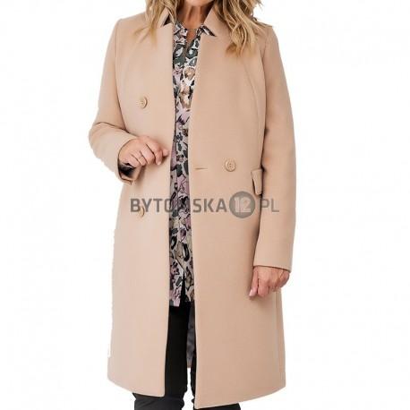 płaszcz Dziekański Blandyna camel rozmiar 40 42 44 46 48