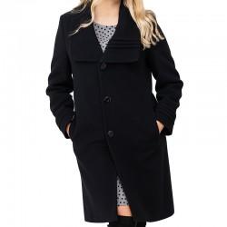 płaszcz zimowy Dziekański Zofia czarny rozmiar 36 38 40 42 48