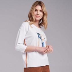 bluzka Feria FI11-4-08 ekrii rozmiar 38 44 46