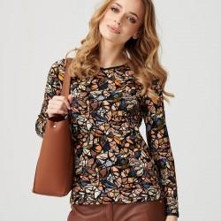 bluzka z długim rękawem Sunwear E13-5-22 multikolor rozmiar 40 42 48