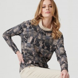 bluzka długi rękaw Sunwear E15-5-23 multikolor rozmiar 40 42 44 48