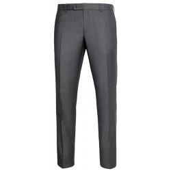 Szare spodnie w kant Lord Sp.T-18 zwężane wełniane rozmiar 84-114 cm