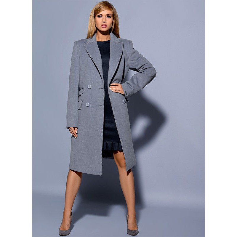 płaszcz Dziekański Emilia na modelce