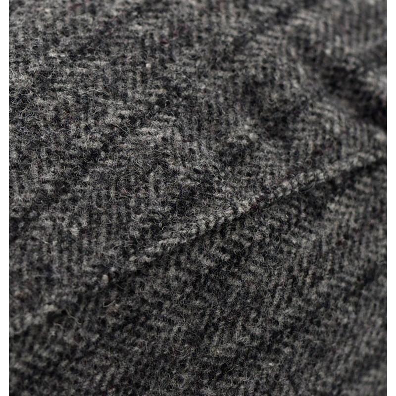 Szary w jodełkę kaszkiet wełniany Pako Jeans model 84-1