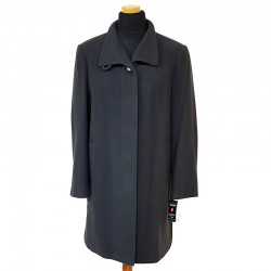 płaszcz damski krótki Caro 076 popielaty rozmiar 40 42 44 46 48 50 52