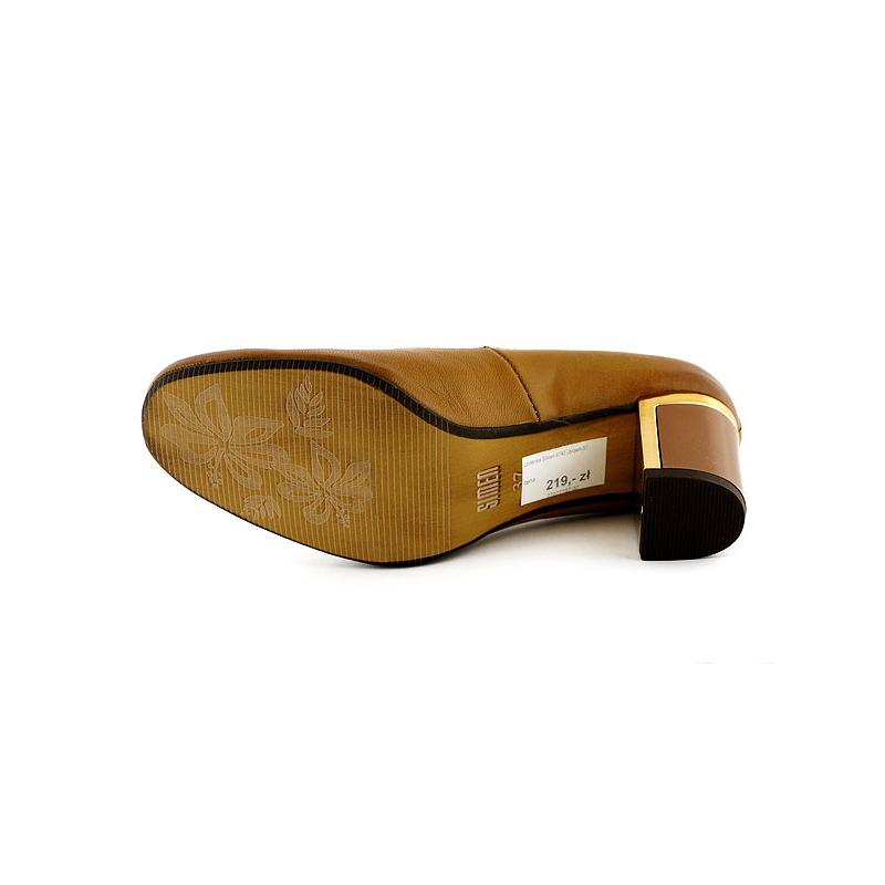 czółenka Simen 6740 brązowe