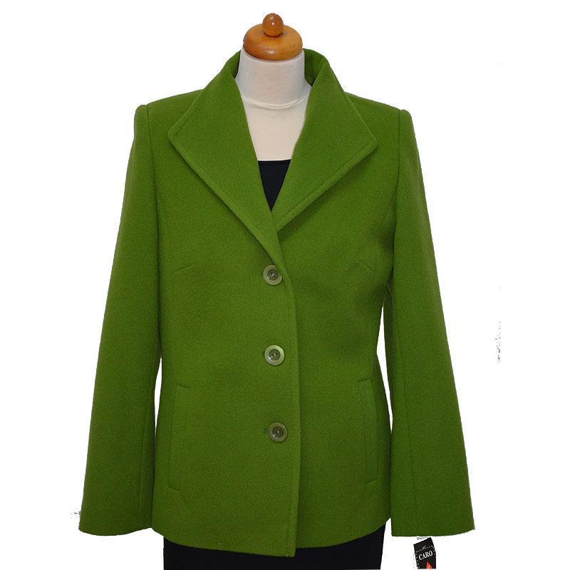 kurtka damska Caro 041 zielona