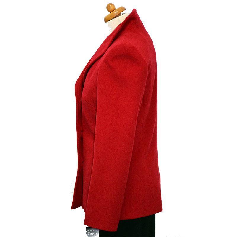 kurtka damska Caro 041 czerwona