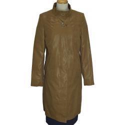 płaszcz damski Biba-Styl Róża jasno brązowy rozmiar 40 42 44 46 48 50
