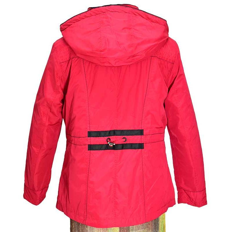 kurtka pikowana Biba Mirela czerwona