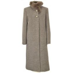 płaszcz Dziekański Ludmiła 101 beżowy rozmiar 38 40 42 44 46 48 50 52