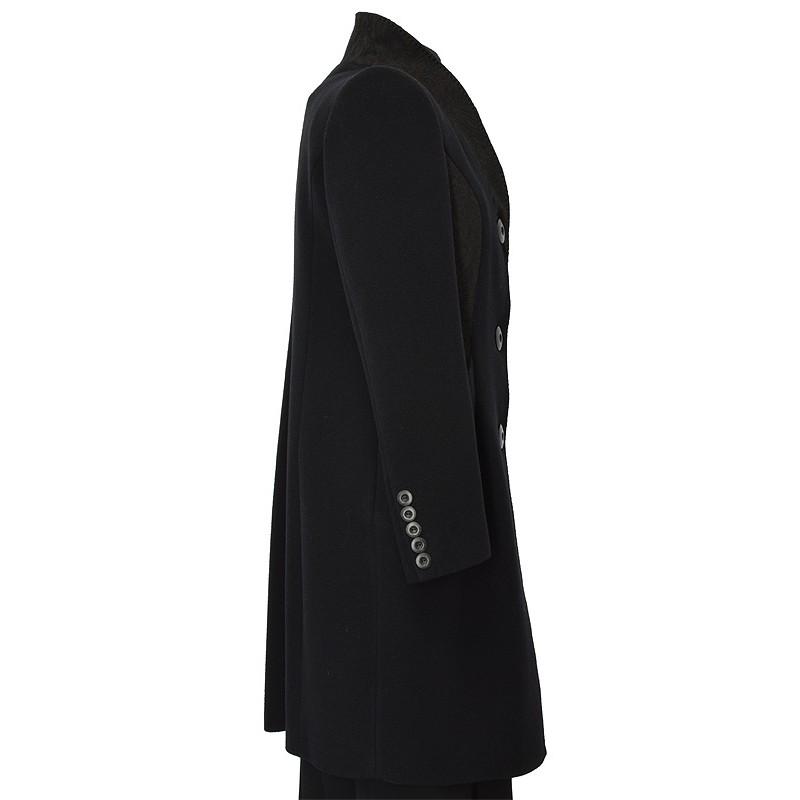 płaszcz Dziekański Larysa czarny z boku