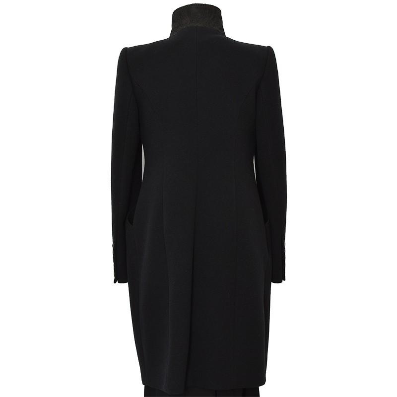 płaszcz Dziekański Larysa czarny z tyłu