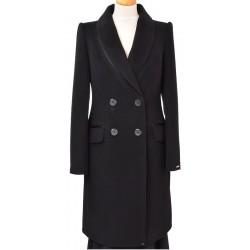 płaszcz Dziekański Izolda 042 czarny + perfumy rozmiar 38 40 42 44 46
