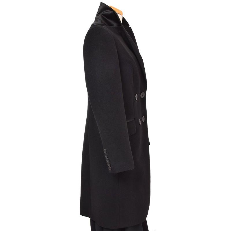 płaszcz Dziekański Izolda czarny z boku