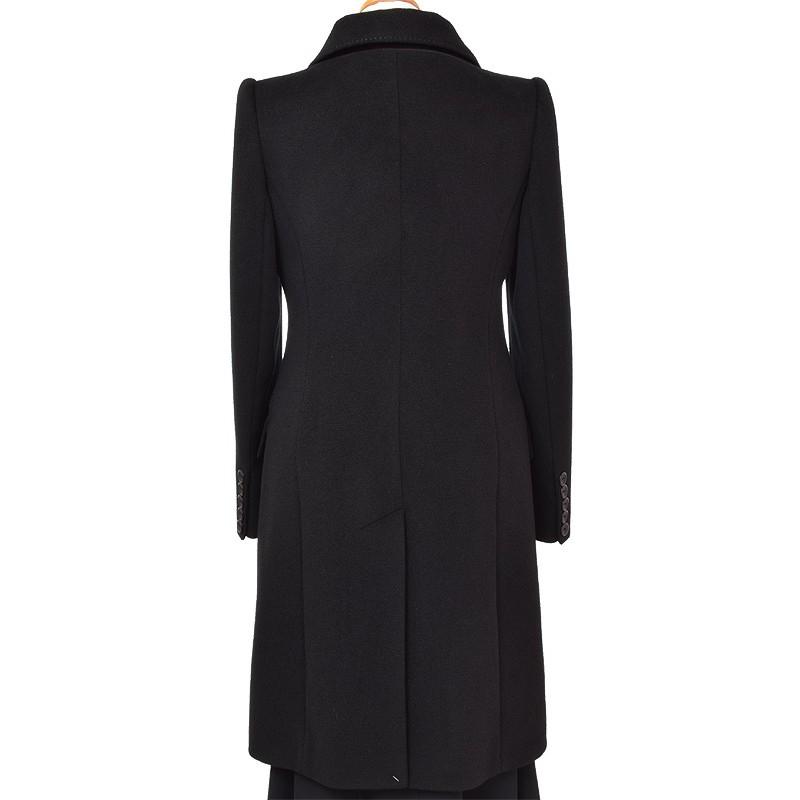 płaszcz Dziekański Izolda czarny z tyłu