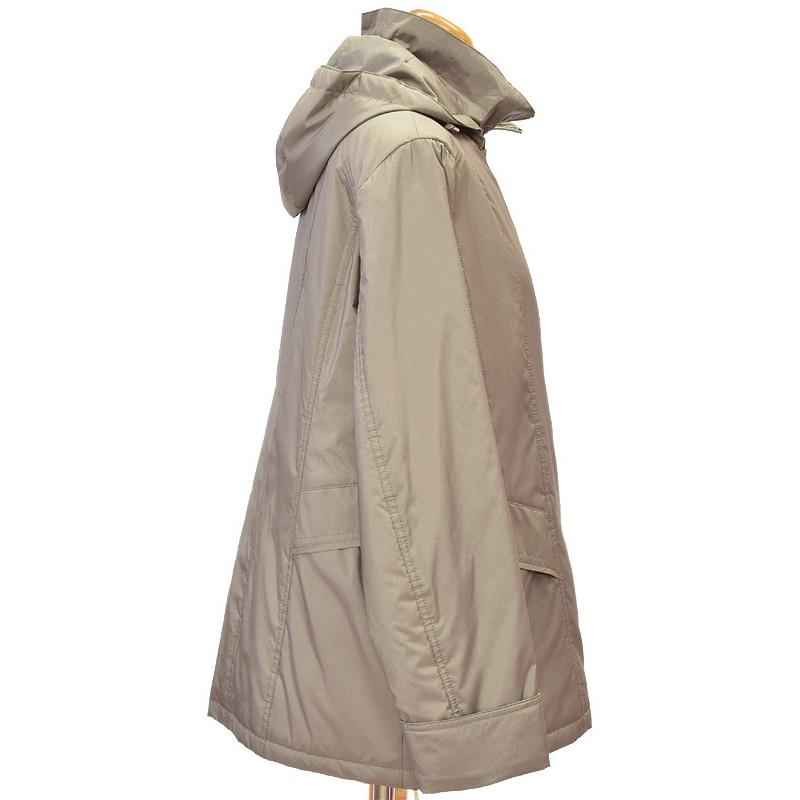 kurtka Biba Larysa cappucino z boku