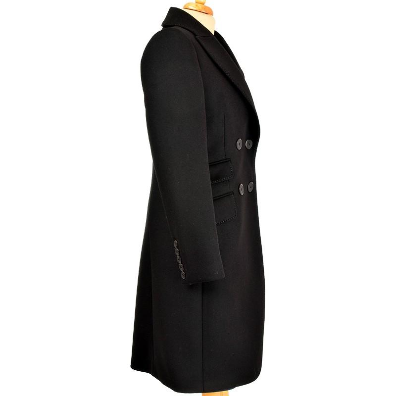 płaszcz Dziekański Emilia czarny z boku
