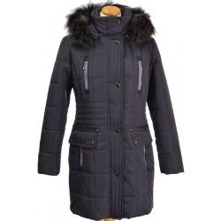 kurtka zimowa damska Biba Klara śliwka rozmiar 42