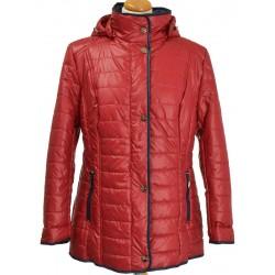 kurtka Biba Brygida ciemno czerwona rozmiar 40