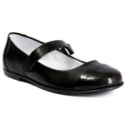 baleriny Kornecki 4679 pasek czarne rozmiar 31 32 33 34 35 36